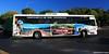 Fraser Island Tour Bus Dropping off at River Heads Barge Carpark, Hervey Bay, SE Queensland