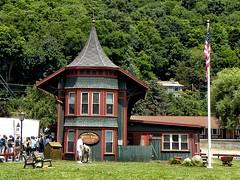 Urbana Ny ~ Depot Park ~ Hammondsport Village ~ Historic Building photo by Onasill ~ Bill Badzo