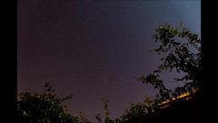 2014-08-13 Perseid Timelapse with star trails photo by Sumitra_S