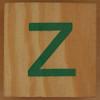 Brick letter z