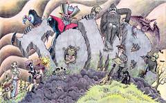 TOMB Cartoon Selfie photo by Tom Bagley