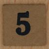 TSL Lotto Bingo Number 5
