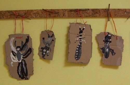 insectes carton