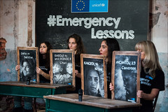 #EmergencyLessons, EU and UNICEF for education in countries affected by emergencies