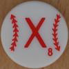 Major League Baseball Scrabble Letter X