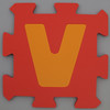 Foam Play Mat Letter V