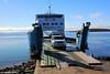 Kingfisher Bay Resort Barge Departing River Heads to Fraser Island, Queensland