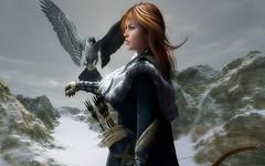 L'Archère à l'Aigle