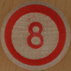 LOTTO BINGO number 8