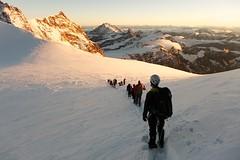 Zumsteinspitze Approach photo by Benjamin-H