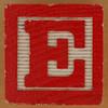 Brick letter E