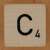 Crossword dice letter C