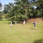 Spot of tennis at Alton Towers<br/>25 Jul 2014