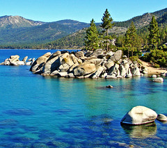 Sand Harbor, Lake Tahoe, NV 9-10 photo by inkknife_2000 (2.5 million + views)
