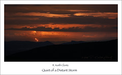 Quiet of a Distant Storm photo by R. Keith Clontz