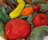 fruits pâte à sel