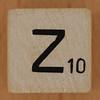 Crossword dice letter Z