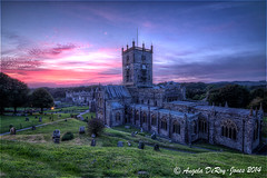 St David's Cathedral Sunset photo by angeladj1