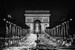 Arc de Triomphe & Champs-Élysées photo by marianboulogne