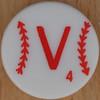 Major League Baseball Scrabble Letter V