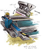 Machine impression Synchroprint bis