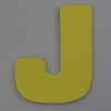 Foam Play Mat Letter J