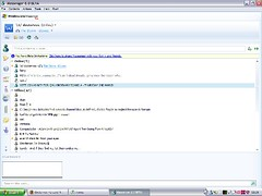 Windows Live Messenger screenshot