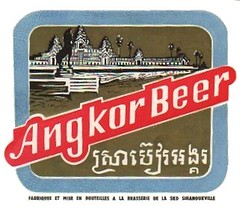 Cambodian Beer Labels