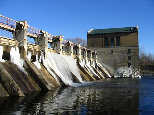 Barton dam, in Ann Arbor