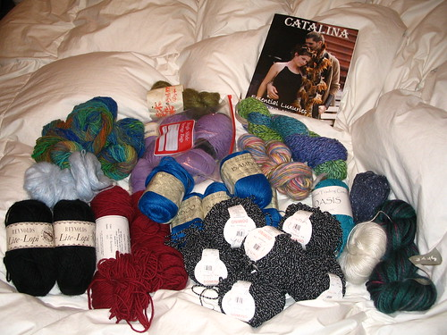 lots of yarn!