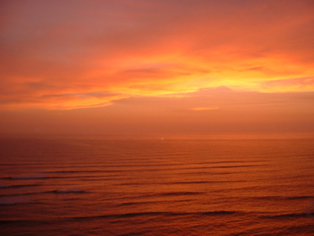Sunset in Miraflores