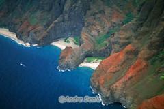 Praia escondida da Na Pali