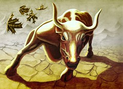 Bull (artwork by Dan Kozan)