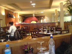 Interior of Zizzi, West End, Edinburgh (including pizza oven)
