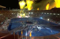 Upacara Penutup Sukan Olympic 1992 di Barcelona, Spain