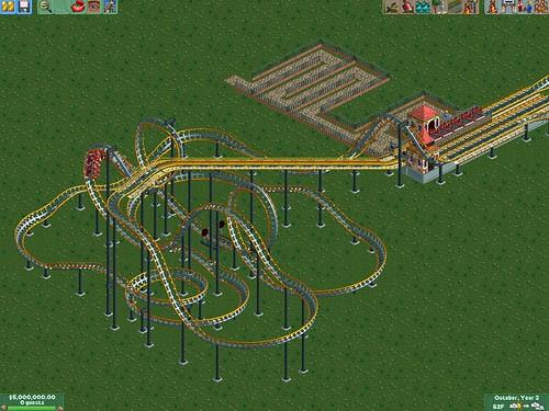CoasterCrazy com Track Pack [RCT2] : Hard Hat Area