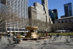 Bryant Park in the day