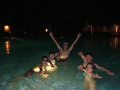 希爾頓豪華大泳池2