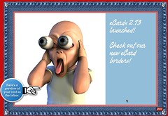 Plaxo eCards 2.13 (blue jeans border)