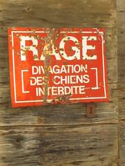 against rage