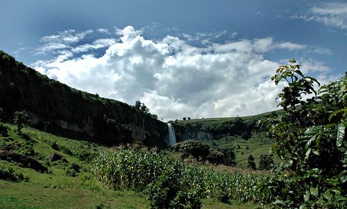 Sipi Falls-the 3rd falls