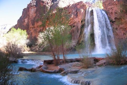 Look for havasupai and you will find tonnes of pictures of the falls