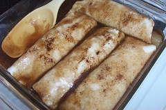 Apple Enchiladas