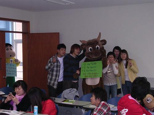 university Thurs afternoon class