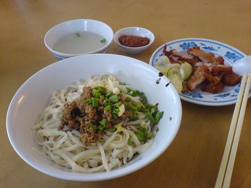 Taiwan Pork Chop Noodles