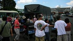 Interplast - Chau Doc, Vietnam - loading the boxes