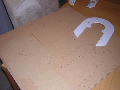 r2d2 leg template - victor 39 s r2d2 building diary marked mdf for horseshoe