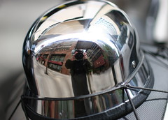 New York in a helmet