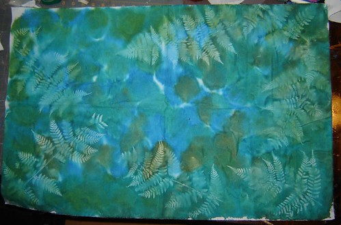 ferns fabric