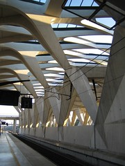Platform 3 @ Lyon Airport Train Station